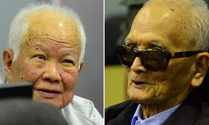 Forty years later, two leaders of the regime have been condemned in the courts.