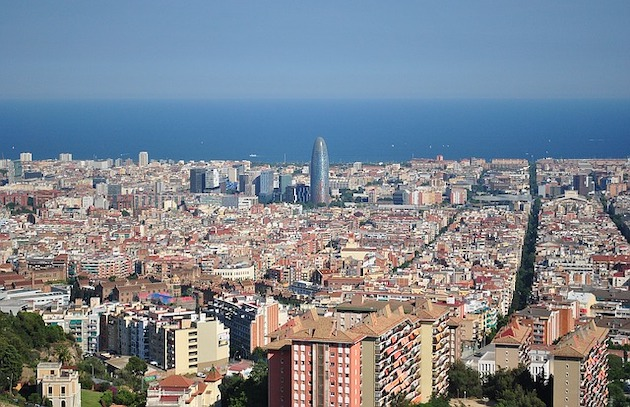 A view of Barcelona. Catalonia is the Spanish Autonomous Community with more evangelical places of worship. / Pixabay (CC0) ,