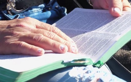 Cuban Christians wanted to give testimony of the importanceof the Bible in their lives. / GNA.