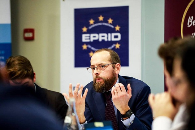 Arie de Pater, European Evangelical Alliance Brussels officer. / EEA,