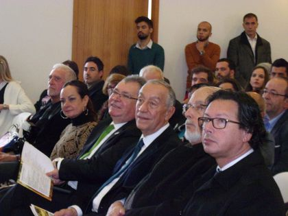 President Marcelo Rebelo de Sousa visited an evangelical church in January 2017. / AEP