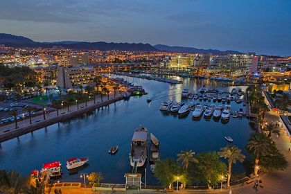Eilat is one of the most important touristic cities of Israel. / Wikimedia Commons.