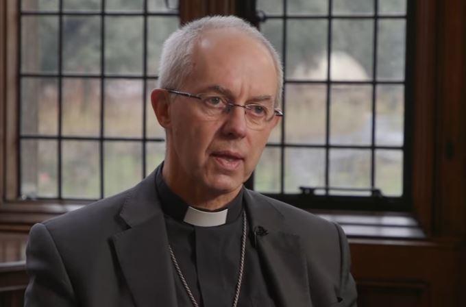 Justin Welby, Archbishop of Canterbury, speaking to Premier. / Premier,