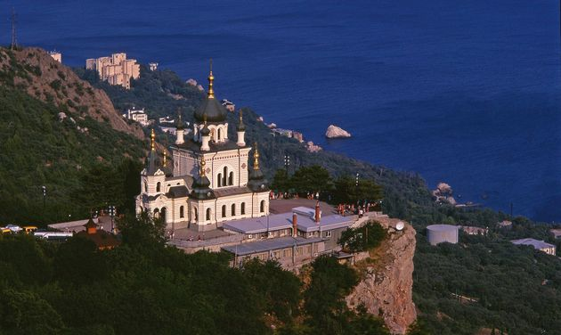 The Church of Christ's Resurrection in Crimea. / Wikimedia Commons.,