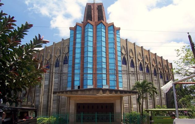 The Cathedral of Our Lady of Mount Carmel in Jolo. /  mapio.net ,