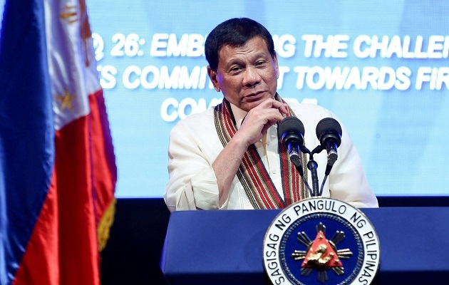 The President of the Philippines, Rodrigo Roa Duterte. / Facebook Rodrigo Duterte