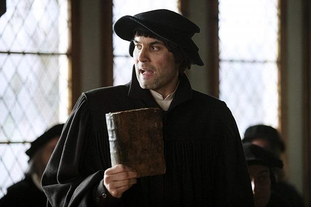 Maximilian Simonischek plays Ulrich Zwingli.