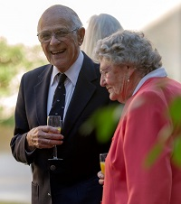 Michael Green and his wife Rosemary. / Photo: Wycliffe Hall