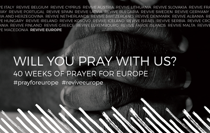 ReviveEurope calls to pray for 40 European countries between February and December 2019.