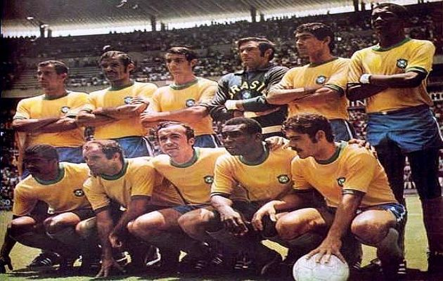 Brazil national team at 1970 World Cup. / Wikimedia Commons.,