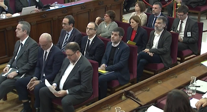 The first session of the trial atthe Supreme Court. / CGPJ