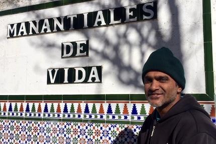 Ab Shaik is in Spain, visiting churches. / V. Rossato