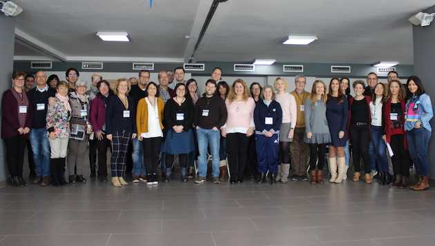 Evangelical psychologists and teachers at the 2019 annual gathering, in Comarruga. / GPE GDE,