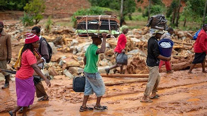 According to the UN, more than 1.7 Million people have been affected by the Idai Cyclone. / UEBE