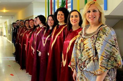 Gospelittles tries to bring the gospel music to the little ones. / Paulina Vecchiarelli, Coro Gospel Vida