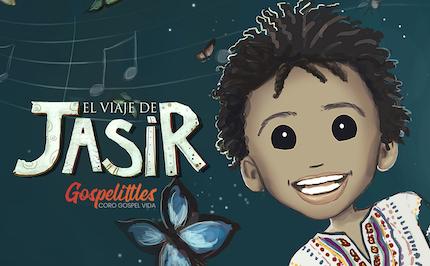 The illustration of Jasir's story have been made by artist Natalia Rosales. / Coro Gospel Vida