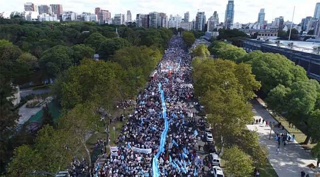 March For Life 2019, in Buenos Aires, Argentina. / ED,