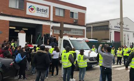 For the seventh year in a row, the Evangelical Betel Church of the Spanish city of Zaragoza, organised a march. / Betel Zaragoza