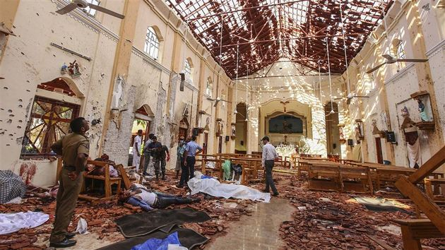 Sri Lankan churches continue to mourn the victims. / YouTube videocaption. ,