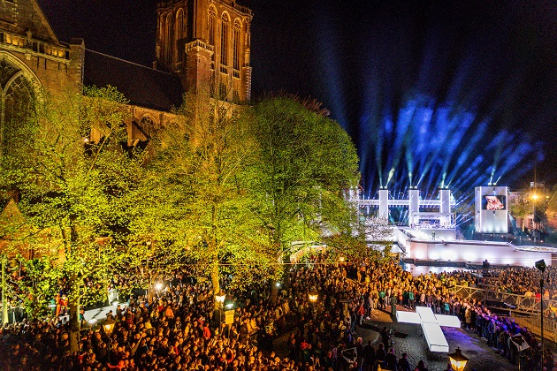 Image of The Passion 2019, in Dordrecht. / Photo: EO, KRO-NCRV