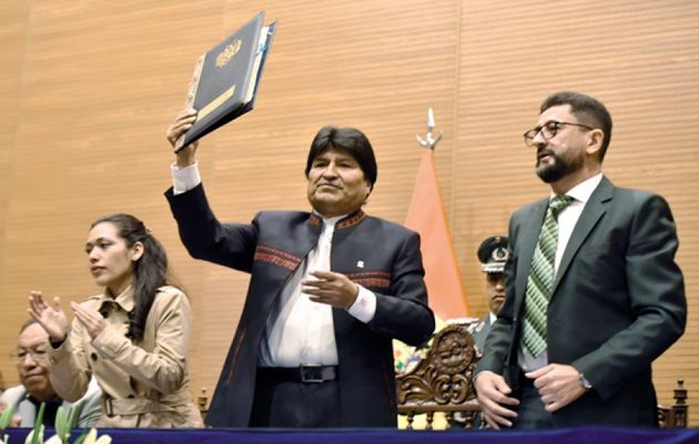The Bolivian President Evo Morales approved the Law of Religious Freedom, Religious Organizations and Spiritual Beliefs. / Correo del Sur.,