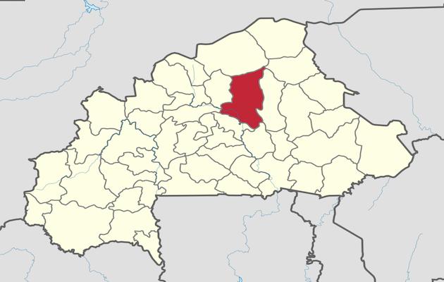 The region of Sanmatenga, in Burkina Faso, where the terrorist attack was carried out. / Wikipedia, CC,