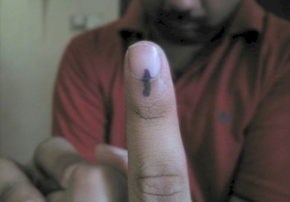 'i've voted!' by Parthan (CC BY-SA 2.0).