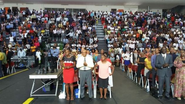 The union was formalized during their 2019 Annual Easter Convention. / la1ere.francetv. ,