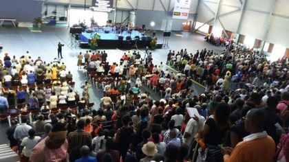 Around 2,500 evangelicals from all over Guadeloupe participated. / la1ere.francetv.