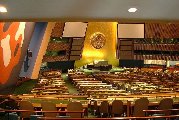 The United Nations, / Wikimedia Commons.,