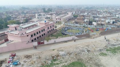 The New Covenant Christian School, in Faisalabad, Pakistan. / Iftikhar Indryas.