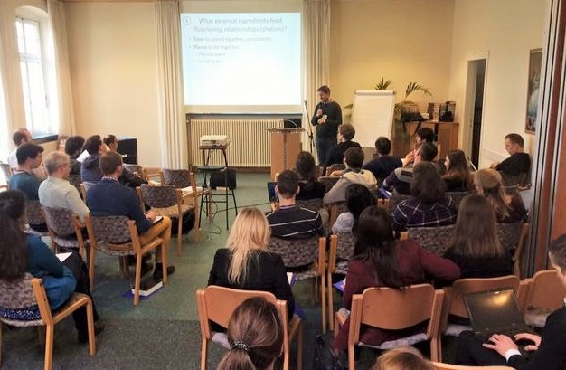 A training session for young graduates in Europe. / IFES Graduate Impact,