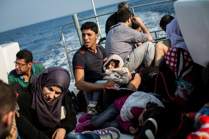 569 migrants have died or went missing since January throughout the Mediterranean.  / UNHCR.