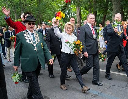 She has a long political experience in Germany.  / Website U. van der Leyen
