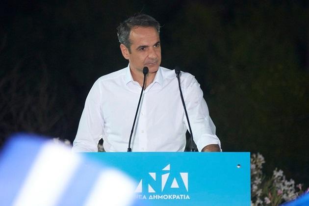 New Prime Minister of Greece, Kyriakos Mitsotakis. / Facebook Kyriakos Mitsotakis,