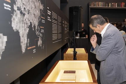 The Bible: A journey through the languages of the world will be in Madrid until September. / CaixaForum Madrid