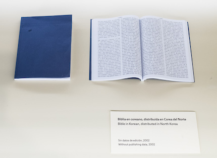 North Korean Bible. / CaixaForum Madrid