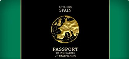 The Passport to indicators of trafficking is written in 9 languages.  / Guardia Civil