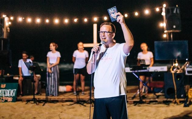 Gernot Elsner leads the missionary association Gospel Tribe, which organises Reach Mallorca every summer. / Reach Mallorca,