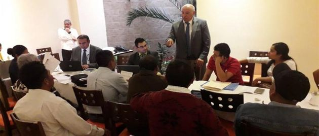 Press conference of the lawyer of the Christian victims. /  Juan Ricardo Montoya.,