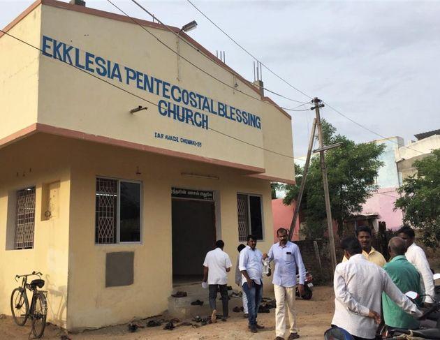 Ekklesia Pentecostal Blessing Church in Chennai, India. / Morning Star News.,