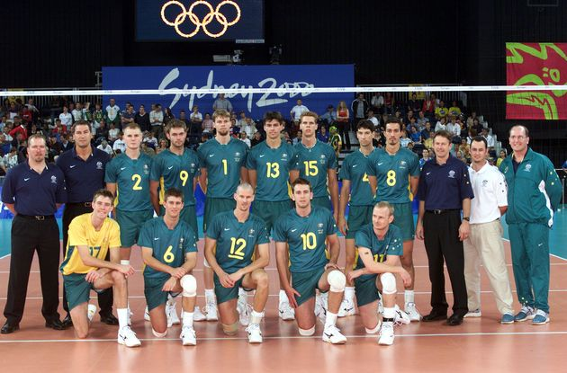 Australian volleyball team.,