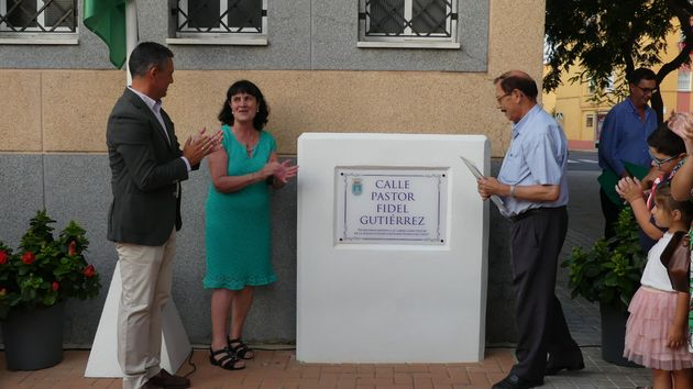 The Spanish city of Rota has dedicated a street to the evangelical pastor Fidel Gutiérrez. / Actualidad evangelica.,