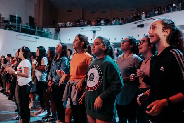 Hundreds of teenagers attended Reboot 2019. / Samuel Babdiola,