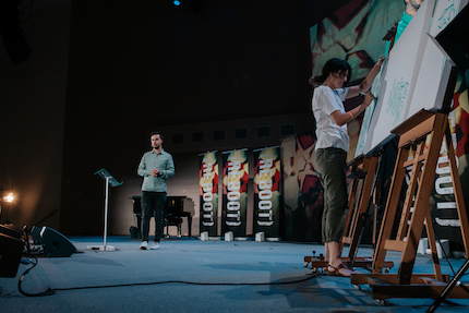 Gerson Mercadal and Miriam Sarti. / Samuel Babdiola