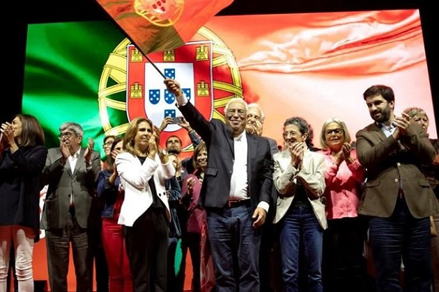 António Costa, candidate of the Socialis Party of Portugal. / Facebook A.C.,