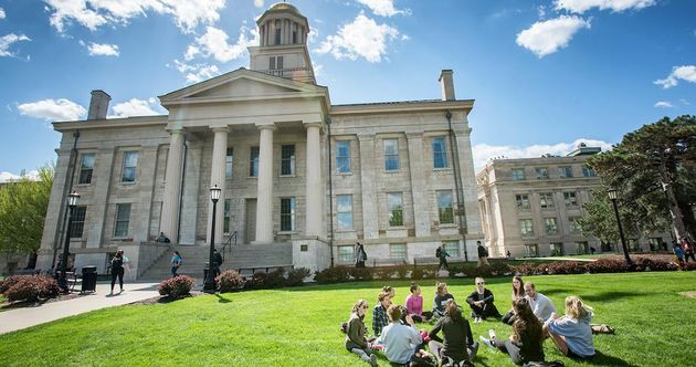 The University of Iowa lost its case against Intervasity. / University of Iowa.,