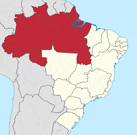 The Region North of Brazil. / Tubs (Wikipedia, CC)