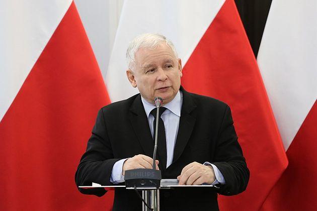 Jaroslaw Kaczynski, leader of the PiS. / Kancelaria Sejmu. Wikemedia Commons.,