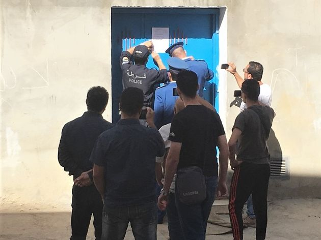 Sealing of Tafath church in Tizi-Ouzou, Algeria, Oct. 16, 2019. / Morning Star News,
